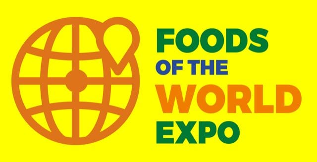 Foods of the World Expo logo