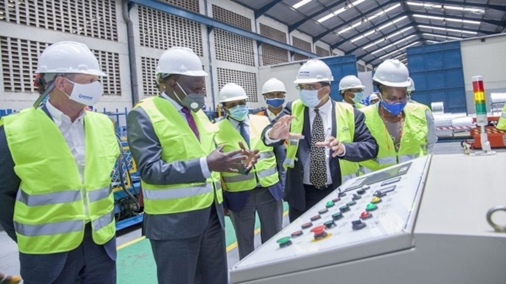 Kenya's Mabati Rolling Mills commissions new manufacturing plant | AFRICA  INC. MAGAZINE